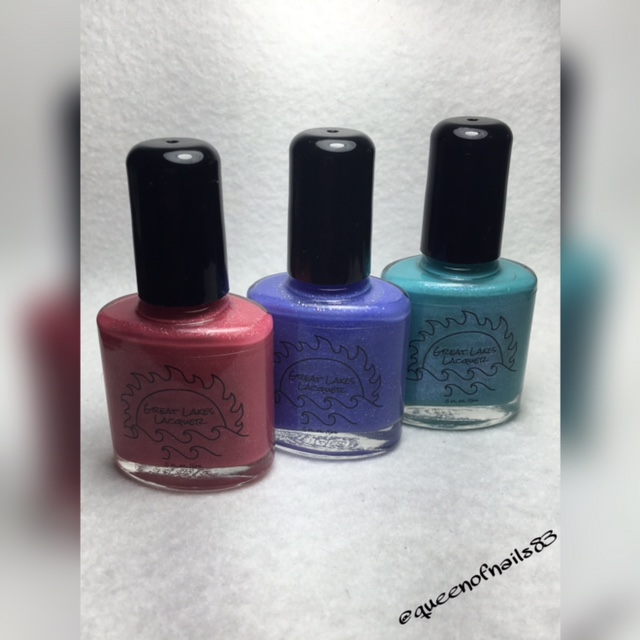 Swatch & Review Great Lakes Lacquer – August Limited Editions