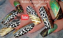 different diva black gold foiling animal print zebra leoprd 2 chainz YT