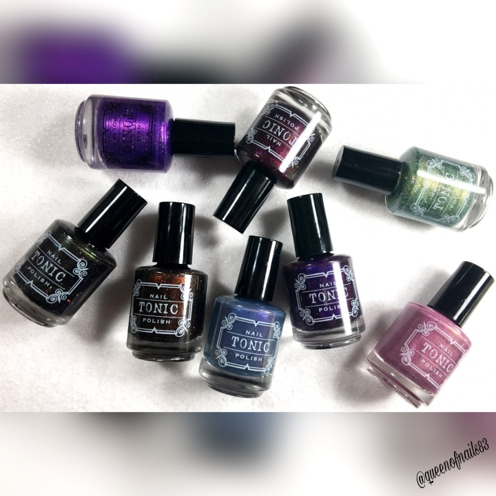 Swatch & Review: Tonic Polish – Halloween Collection and Polish Con LE Duo