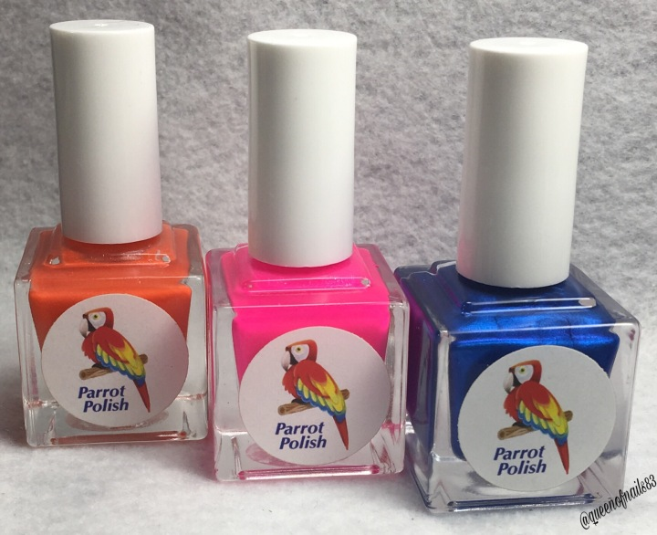 Forget Me Not: Parrot Polish