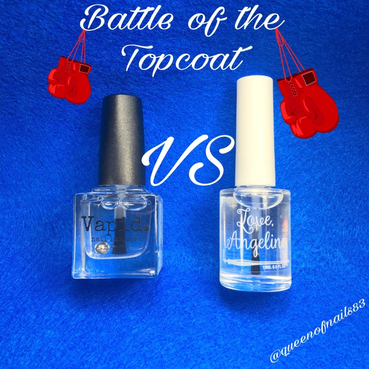 Battle of the Topcoat: Vapid vs Love, Angeline