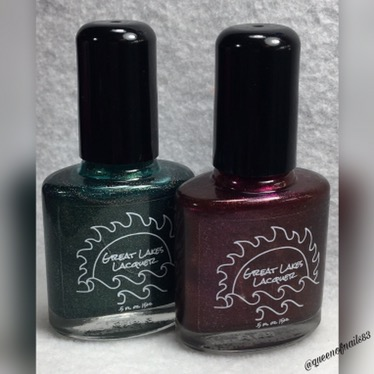 Swatch & Review: Great Lakes Lacquer – ReVamped FB Group Customs
