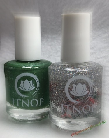 Swatch & Review: ITNOP – Christmas Duo Limited Edition