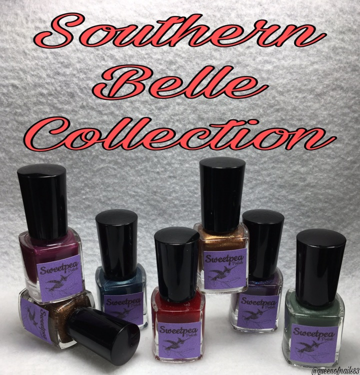 Swatch & Review: Sweetpea Polish – Southern Belle Collection