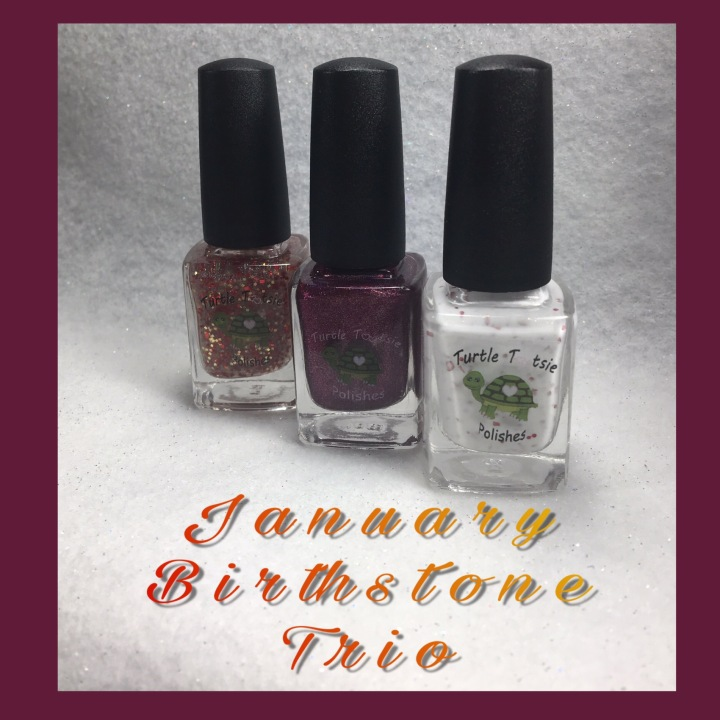Swatch & Review: Turtle Tootsie – January Birthstone Trio
