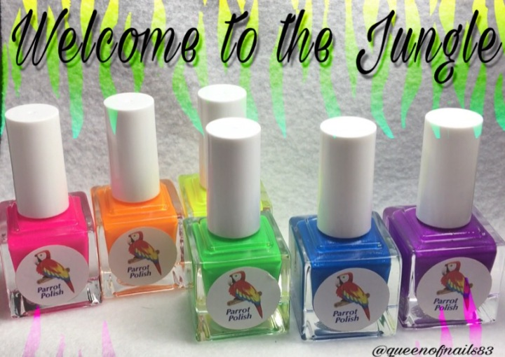 Swatch & Review: Parrot Polish – Welcome to the Jungle