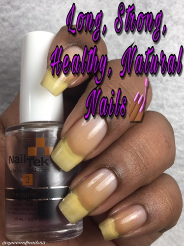 The Queens Guide to Long, Strong, Healthy, Beautiful, Natural Nails