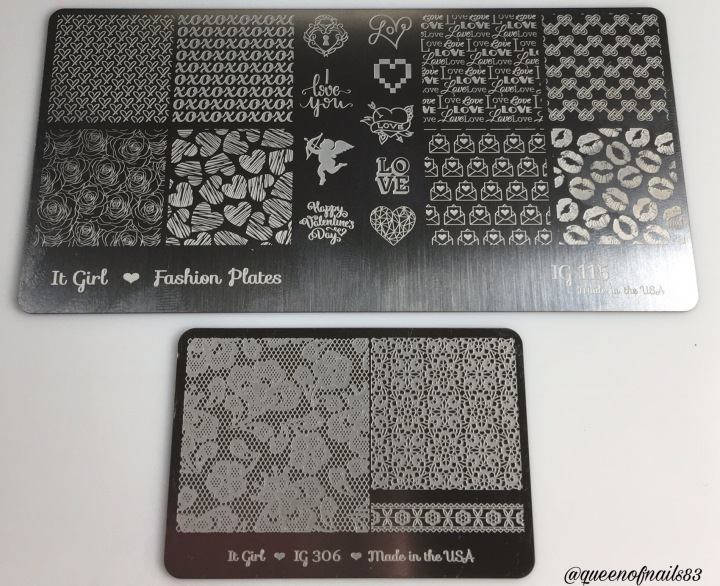 The Queens Critique: It Girl Nail Art Stamping Plates & CuticleOil