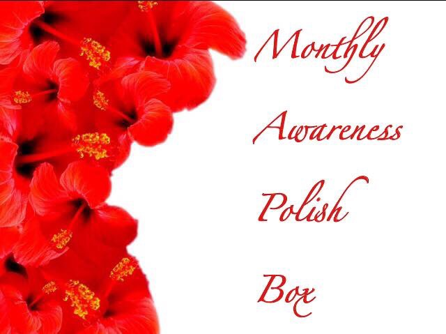 January 2018 Monthly Awareness Polish Box: Mental Health Awareness