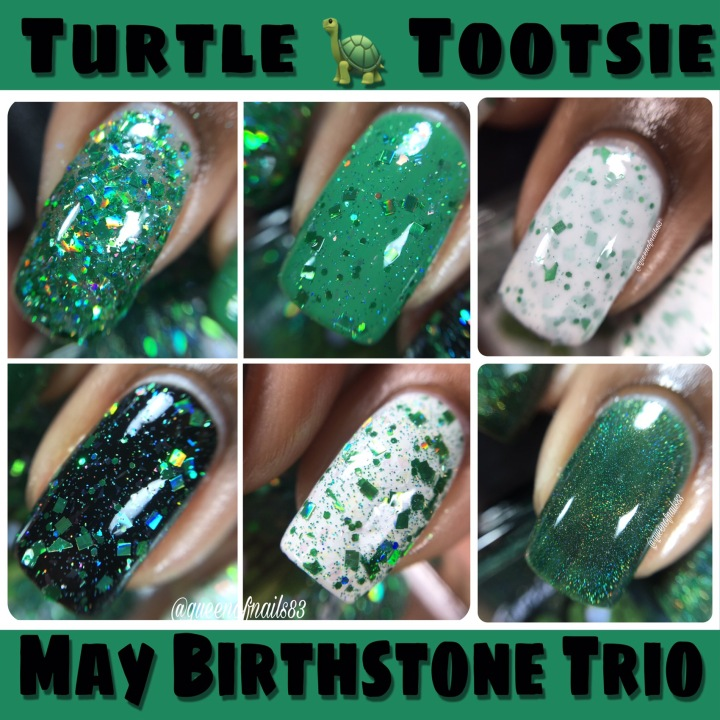 Swatch & Review: Turtle Tootsie – May Birthstone Trio
