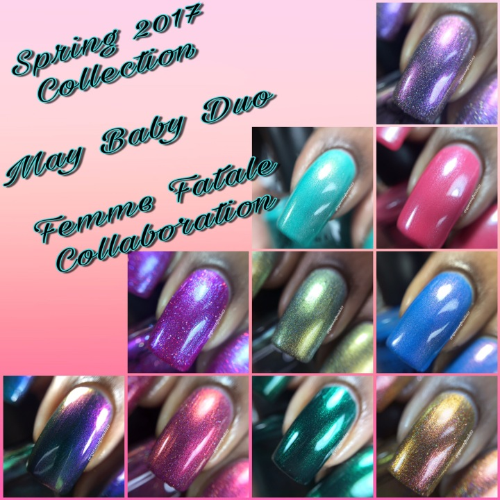 Swatch & Review: Tonic Polish – Spring 2017 Releases
