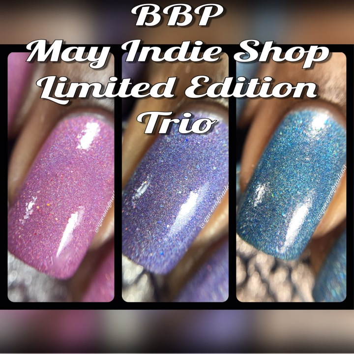 Swatch & Review: BBP – May 2017 Indie Shop LE Trio