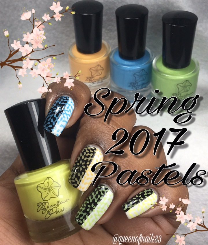 Swatch & Review: Moonflower – Spring 2017(partial)