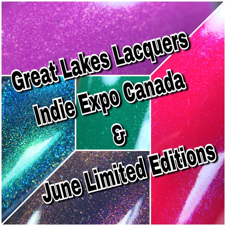 Swatch & Review: Great Lakes Lacquer – Indie Expo And June Limited Editions