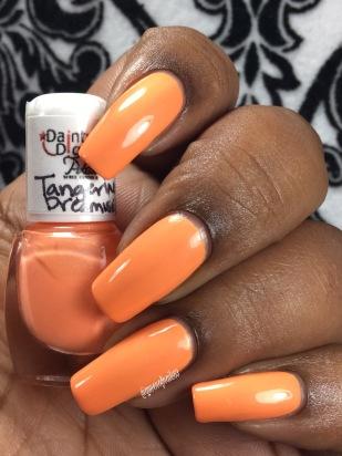 Tangerine Dreamsicle w/ glossy tc