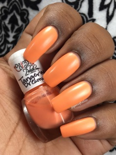 Tangerine Dreamsicle w/ matte tc