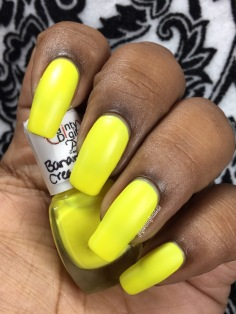 Banana Cream POW w/ matte tc
