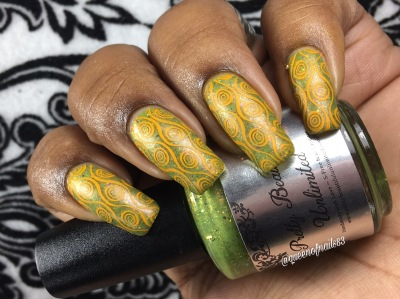 Grass of the Sea w/ nail art