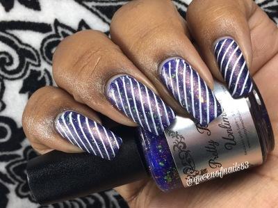Sapphire Sea w/ nail art