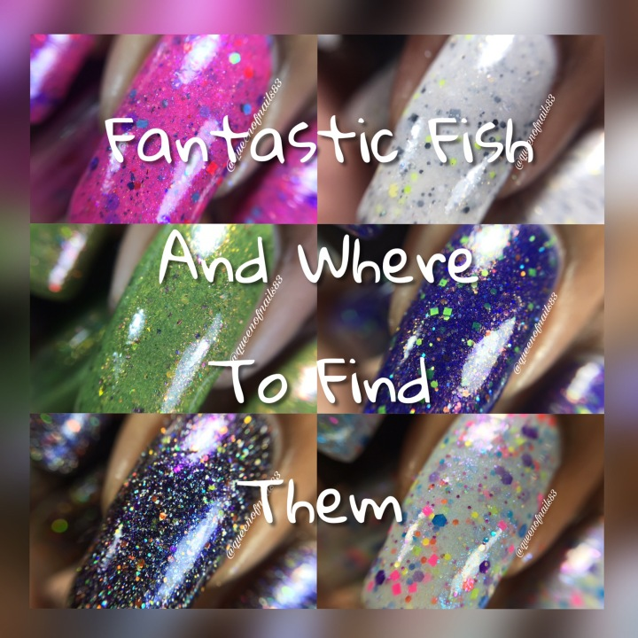 Swatch & Review: Pretty Beautiful Unlimited – Fantastic Fish and Where to Find Them (Partial)