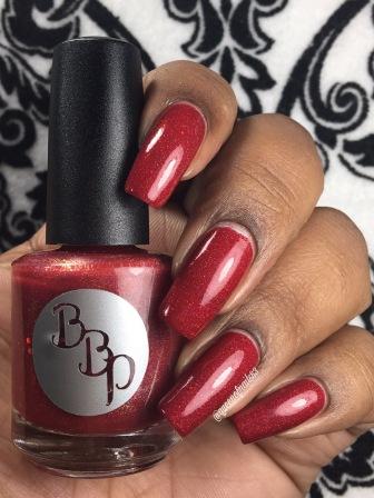 Ruby Slipper w/ glossy tc