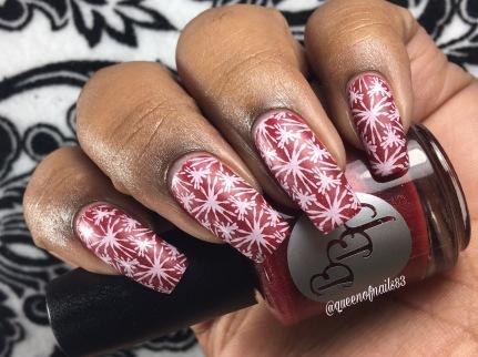 Ruby Slipper w/ nail art