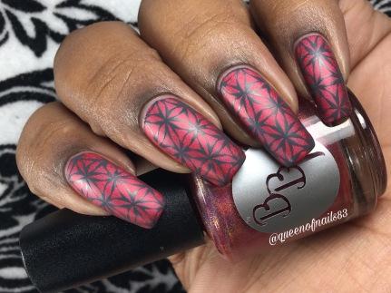 Ruby Rhod w/ nail art