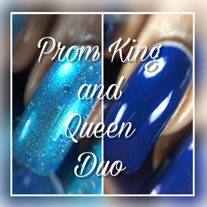 Swatch & Review: Little Black Dress Polish – Prom King and Queen Duo