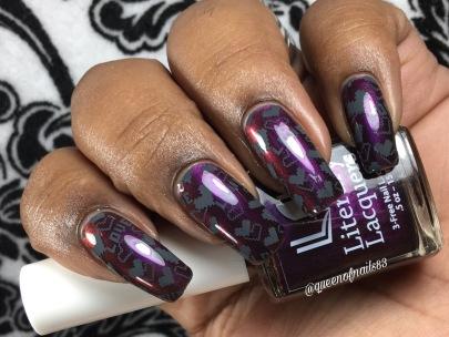 Orgasm w/ nail art
