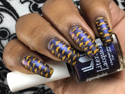 Miner's Gift w/ nail art