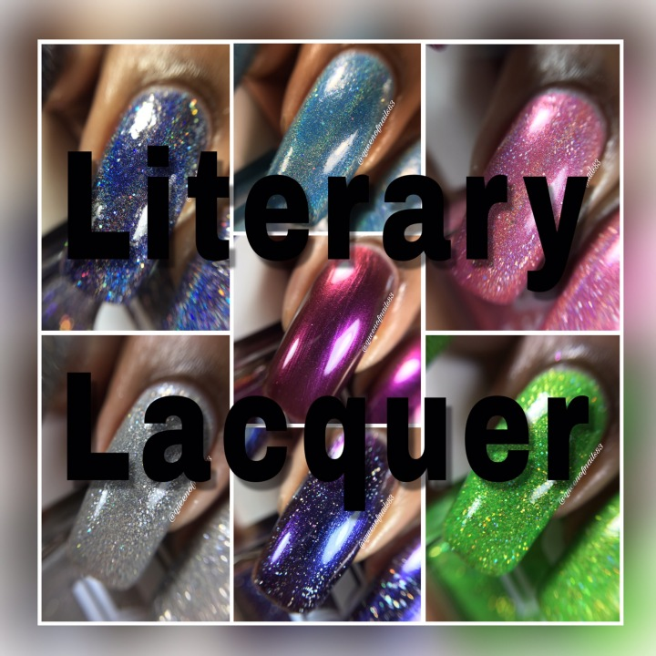 Swatch & Review: Literary Lacquer  – June Release