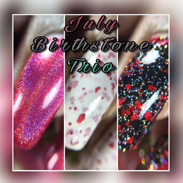 Swatch & Review: Turtle Tootsie – July Birthstone Trio