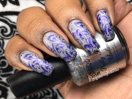 B Cautious w/ nail art