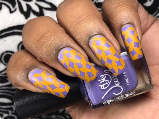 B Aware w/ nail art