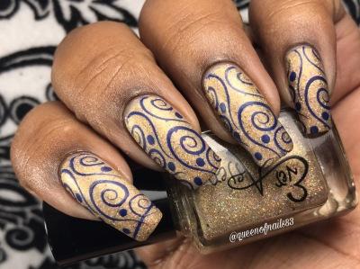 Razzle Dazzle Them w/ nail art