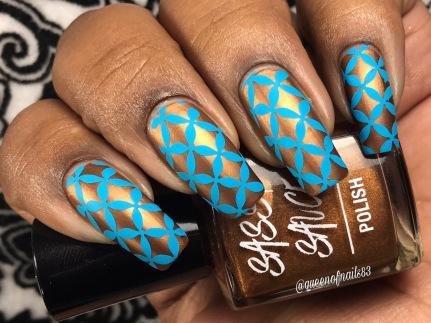 Defined Hissy Fit w/ nail art
