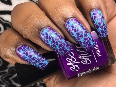 Karma w/ nail art