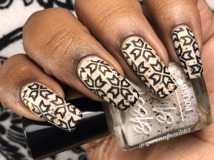 Spicy Stone w/ nail art