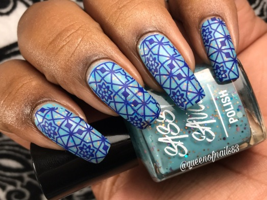 Sea Wishes w/ nail art