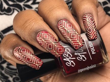 Dorothy's Dark Side w/ nail art