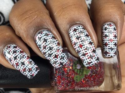 Cancer w/ nail art
