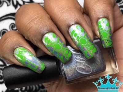 Silver Bullet w/ nail art