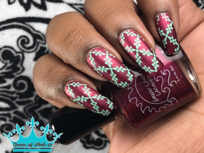 Every Drop of Flame w/ nail art