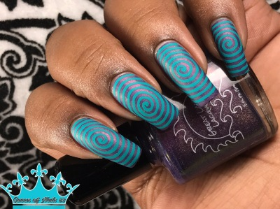 2 Year Love w/ nail art