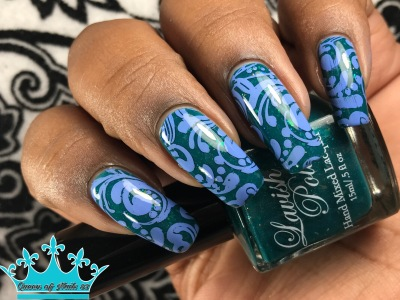 Lavish - Meet Me On the Pier w/ nail art