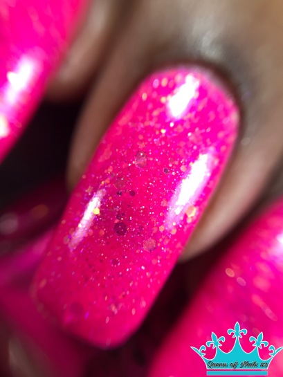 Lollipop Posse Lacquer - Cotton Candy Chaos macro