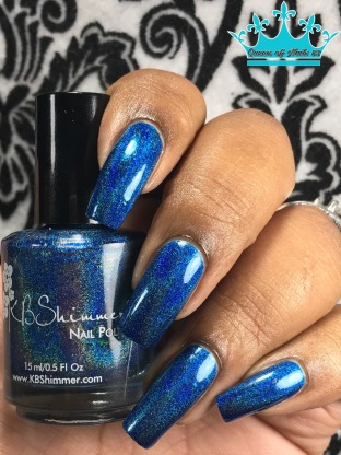 KBShimmer - Navy Or Not, Here I Come w/ glossy tc