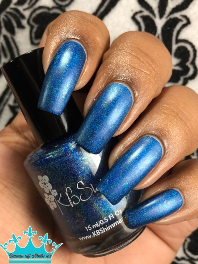 KBShimmer - Navy Or Not, Here I Come w/ matte tc