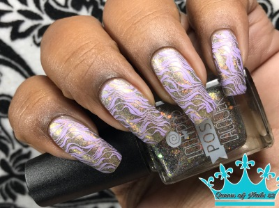 The Future is Coming On w/ nail art