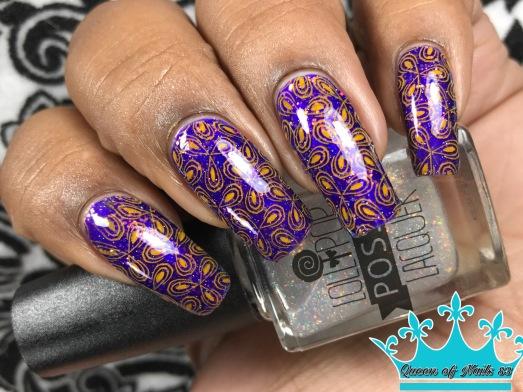 Help Me Burn Out Bright w/ nail art